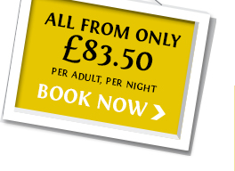 All from just £83.50. Book Now