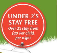 Under 2s Stay Free.