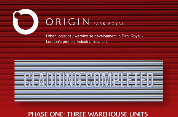 Origin Park Royal Steelworks Now Complete