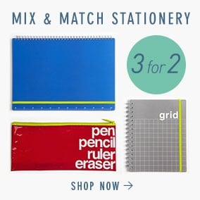 3 for Stationery