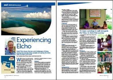 MAF Article: Experiencing Elcho
