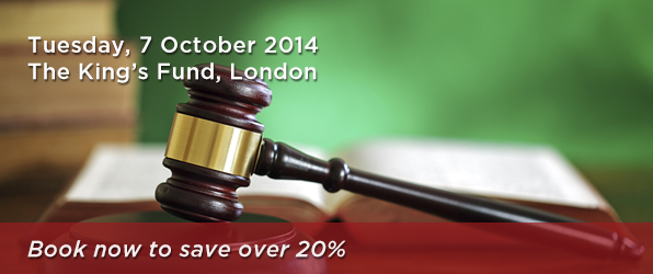 Tuesday, 7 October 2014 The King's Fund, London - Book now to save over 20%